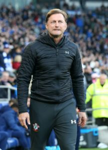 Southampton boss Ralph Hasenhuttl apologised for not shaking the hand of Unai Emery, immediatelty after Saints 3-2 win.