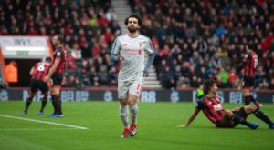 Liverpool boss Jurgen Klopp heaped praise on Mohamed Salah after the winger netted a hat-trick in the 4-0 win over Bournemouth.