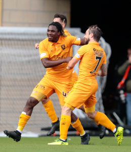 Dolly Menga netted a memorable solo goal as Livingston scored four goals in seven second-half minutes to record a 5-0 win over Hearts.