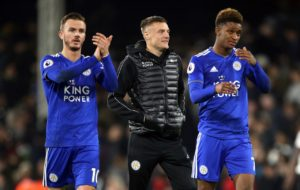 Jamie Vardy is set to return for Leicester City against Crystal Palace on Saturday after shrugging off a groin injury.