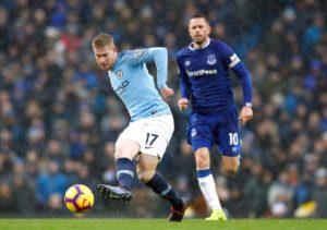 Kevin De Bruyne says Manchester City just need to keep doing what they are doing but expects Liverpool to push them all the way.