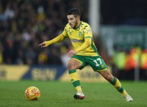 Emi Buendia is expected to be out of Norwich's clash with Derby at Carrow Road.