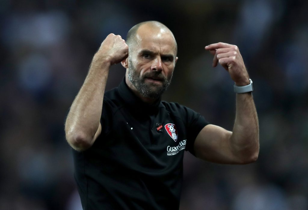 Rotherham boss Paul Warne is hoping to have several players available again in time to face Reading on Saturday.