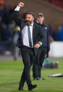 Aberdeen boss Derek McInnes praised his side's appetite as they saw off St Mirren 2-1 to move up to fourth in the Ladbrokes Premiership.