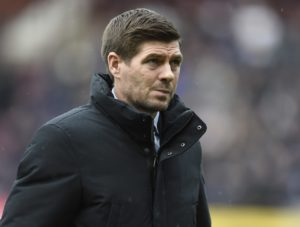 Steven Gerrard insists he has no complaints despite Rapid Vienna barring his Rangers side from training on their rutted Allianz Stadion pitch.