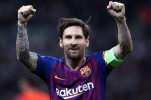 Barcelona great and director Guillermo Amor has hailed Lionel Messi as 'the best' after he grabbed a hat-trick in the 5-0 win over Levante.