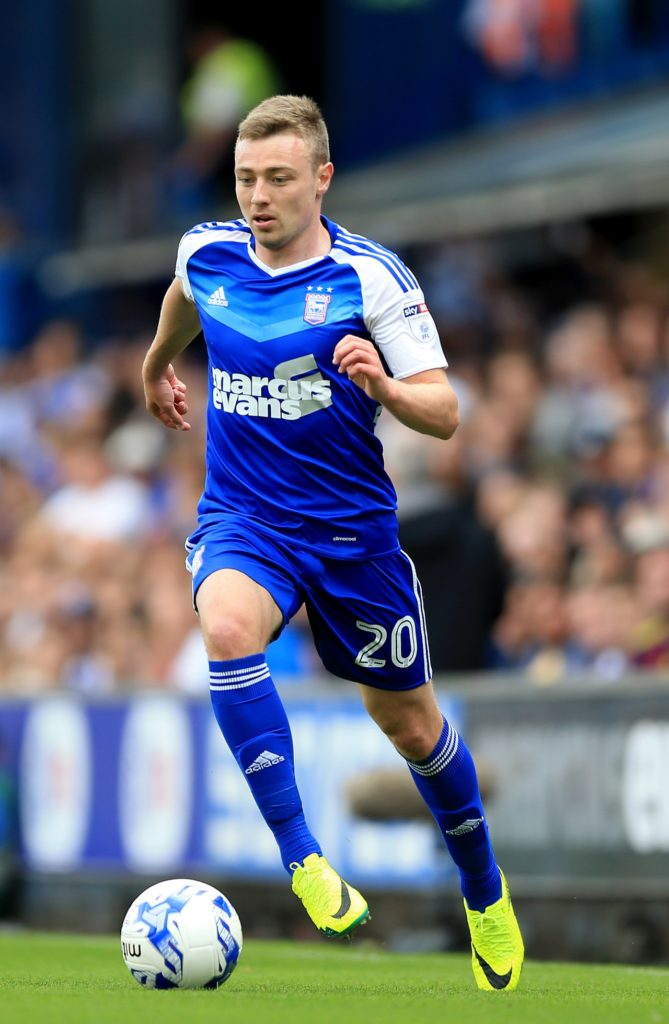 Freddie Sears will stay at Ipswich until the summer of 2020 after the club took up an option in his current contract.