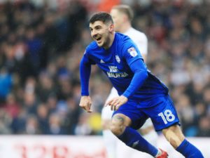 Cardiff City's Callum Paterson is expected to lead the line once again ahead of Saturday's clash with Southampton.