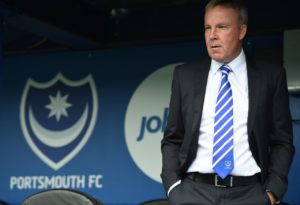Portsmouth manager Kenny Jackett urged his side to stay grounded after a 2-0 win at home to Southend send them six points clear at the top of League One.