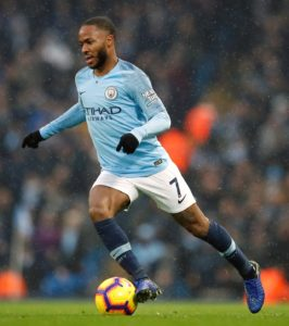 Pep Guardiola praised the display of Raheem Sterling in Man City's 3-1 win over Everton after he ended a difficult week with a goal.