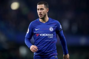 Maurizio Sarri expects Eden Hazard to quickly recover from the knock he picked up during Chelsea's 2-1 win at Brighton on Sunday.
