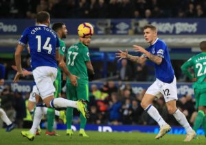 Everton manager Marco Silva says he is very pleased with the way new signing Lucas Digne has settled into the squad.