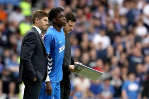 Liverpool midfielder Ovie Ejaria has returned to Anfield after ending his loan spell at Rangers with immediate effect.
