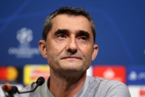 Ernesto Valverde says Barcelona respect Lyon and will not be complacent when they face them in the last-16 of the Champions League.