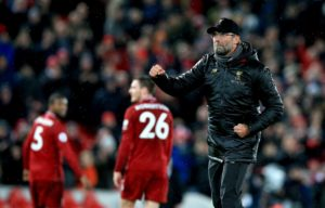 Jurgen Klopp is paying no attention to what Manchester City are doing after Liverpool returned to the top of the Premier League.