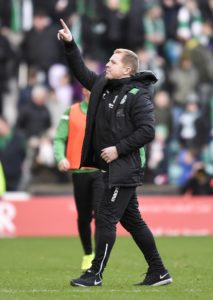 Neil Lennon believes Hibernian will put the rest of the Ladbrokes Premiership on red alert if they can follow up their Celtic triumph with victory over Rangers.