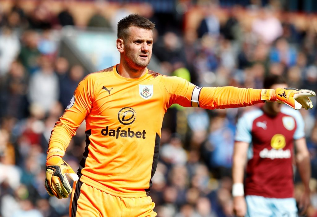Sean Dyche claims there have been no meaningful approaches for Burnley goalkeeper Tom Heaton ahead of the January transfer window.