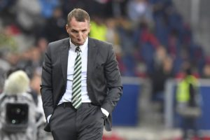Celtic boss Brendan Rodgers admitted his men lacked concentration as they were held to a draw by Motherwell on Wednesday night.