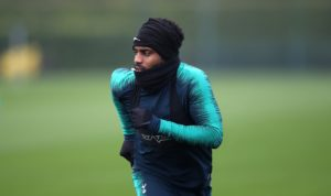 Danny Rose says he is hoping to force his way into the Tottenham side that takes on Barcelona next week.