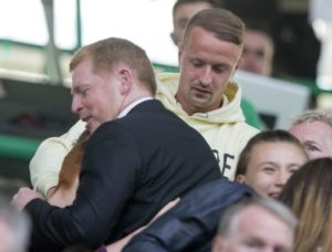 Neil Lennon has assured Celtic striker Leigh Griffiths that he will feel better soon if he talks about his issues and follows professional advice.