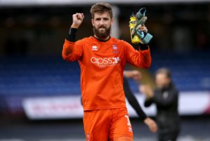 Lincoln will check on the fitness of goalkeeper Josh Vickers ahead of their home game against Morecambe.