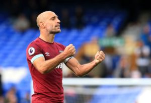 Pablo Zabaleta has urged West Ham to maintain their focus after racking up another win at the weekend.