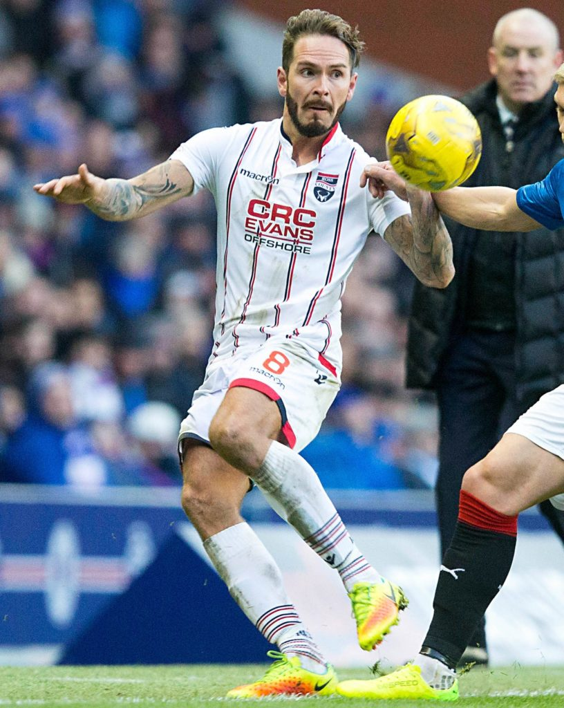 Dundee midfielder Martin Woods insists confidence has not been battered ahead of their trip to Aberdeen.