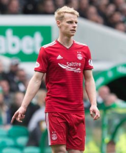 Gary Mackay-Steven is out of Aberdeen's Ladbrokes Premiership clash with Rangers at Ibrox on Wednesday night.
