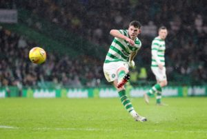 Celtic leapfrogged Kilmarnock to the top of the Ladbrokes Premiership with a stunning 5-1 victory in their clash at Parkhead.