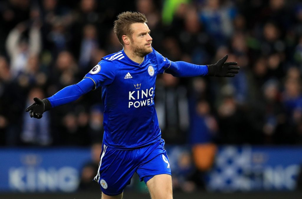 Leicester will be without star striker Jamie Vardy for the clash with Fulham and Claude Puel also has a shortage of defenders.