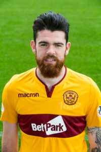 Motherwell defender Liam Donnelly (calf) is definitely out of the Ladbrokes Premiership encounter with Hearts after going off injured against Celtic.
