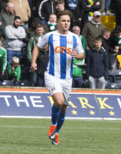 Kilmarnock battled two power cuts to thump Hibernian 3-0 and move up to second place in the Ladbrokes Premiership.