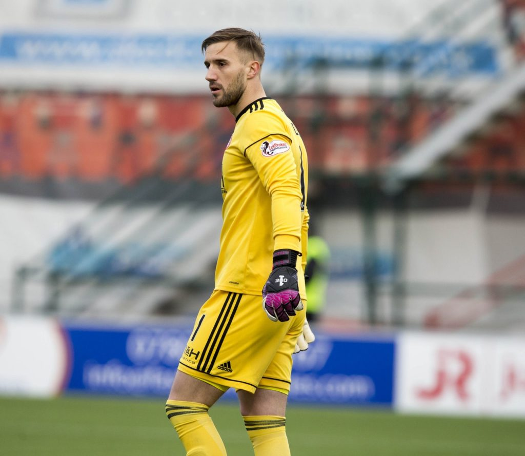 Hamilton face a potential goalkeeping shortage after losing two players at Saturday's 1-0 defeat by Hibernian.