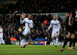 Leeds' hot streak came to an end as Hull gained a 2-0 victory at Elland Road.