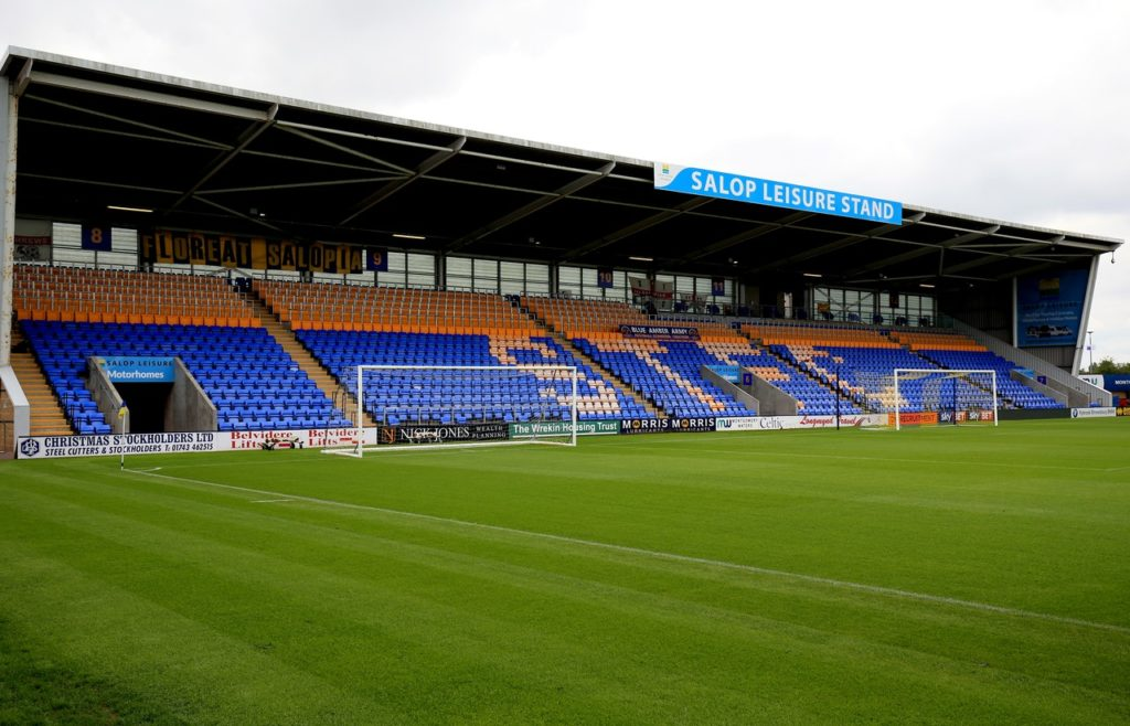 Sam Ricketts is looking to hit the ground running as Shrewsbury manager with victory over Walsall in the Checkatrade Trophy.
