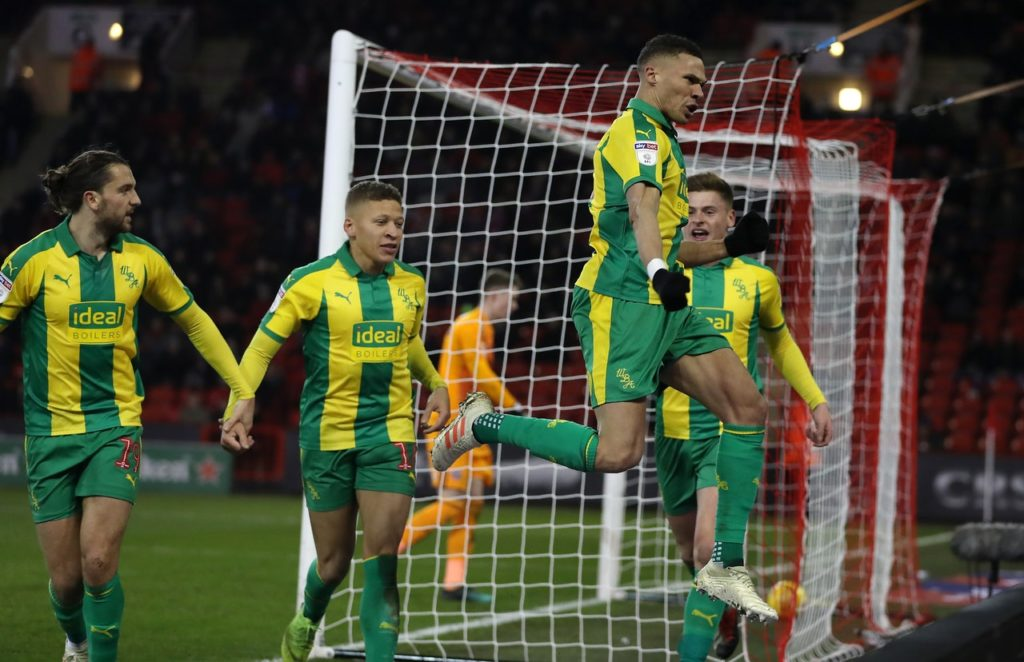 West Brom came from behind to win 2-1 at Sheffield United and climb above their opponents into third in the Sky Bet Championship table.
