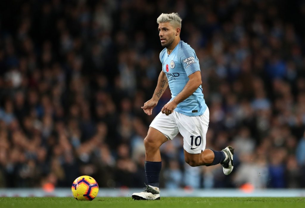 Manchester City pair Sergio Aguero and Kevin De Bruyne have been ruled out of the champions' Premier League trip to Chelsea.