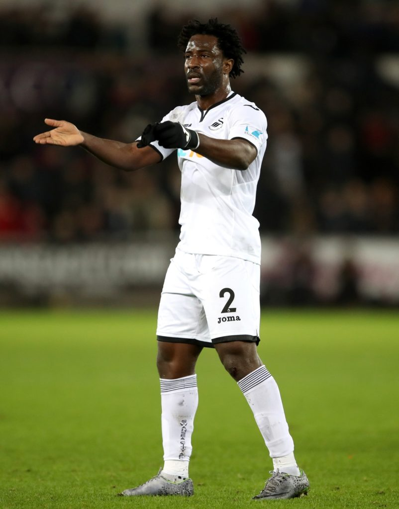 Swansea are sweating on the fitness of Wilfried Bony for Saturday's Sky Bet Championship clash with Sheffield Wednesday.