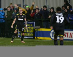 Mitch Pinnock stepped off the bench to deliver AFC Wimbledon a priceless 2-1 victory over fellow strugglers Plymouth.