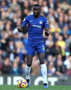 Antonio Rudiger has revealed he is not in talks with Chelsea over a new contract and is in no rush to pen one either.
