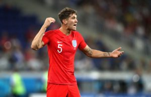 England's John Stones says it is 'onwards and upwards' for the team after shining in 2018.