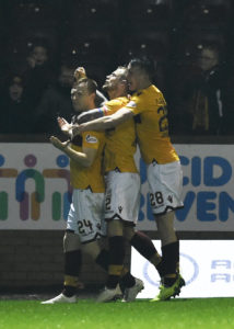 Motherwell goalscorer Danny Johnson felt they 'rattled' Celtic during Wednesday's 1-1 draw at Fir Park.