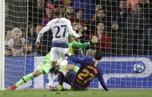 Barcelona manager Ernesto Valverde had no complaints with the 1-1 draw against Tottenham, accepting the visitors wanted it more.