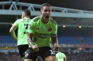 Billy Sharp scored twice as Sheffield United rampaged their way to a 3-0 win over stubborn Blackburn.