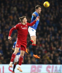 Rangers midfielder Ryan Jack is confident the squad will show the right reaction to criticism of their midweek performance.