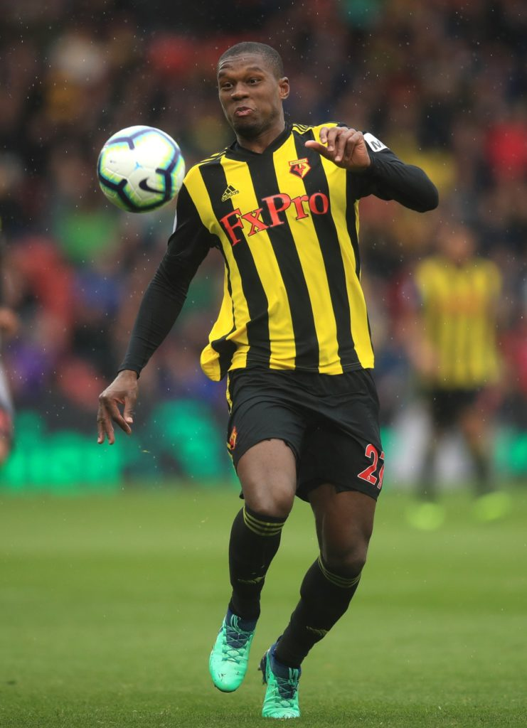 Christian Kabasele was pleased to be back on the pitch for Watford on Tuesday despite the 2-1 home defeat against Manchester City.