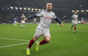 Xherdan Shaqiri believes Liverpool have to continue to be brave in their approach if they are to keep pressure on Manchester City.
