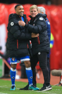 Bournemouth boss Eddie Howe is adamant that striker Callum Wilson will still be at the club at the end of the January transfer window.