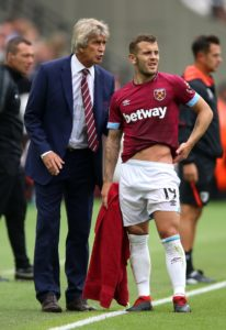 West Ham United boss Manuel Pellegrini insists he took a risk on Jack Wilshere but he believes it has saved the club £100million.