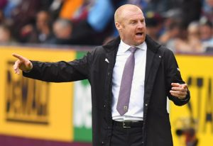 Sean Dyche admits his decision to play three centre backs against Tottenham was a success and will not be a one-off.